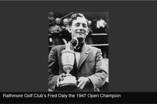 Fred Daly 1947 Open Champion