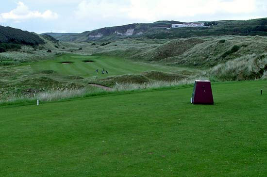 View from 5th Tee The Valley Portrush